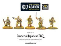 Bolt Action - Imperial Japanese HQ