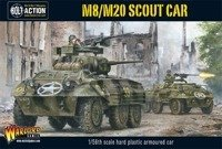 Bolt Action - M8/M20 Greyhound Scout Car (Plastic Box)