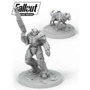 Fallout: Wasteland Warfare - X-01 Survivor & Dogmeat