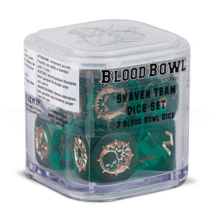 Blood Bowl: Skaven Dice