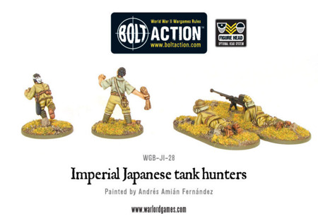 Bolt Action - Imperial Japanese Tank Hunters