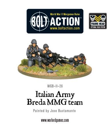 Bolt Action - Italian Army Breda Medium Machine Gun