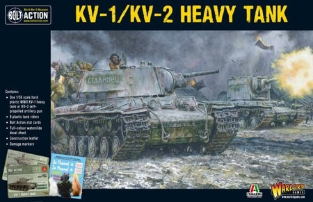 Bolt Action - KV1/2 Plastic Box Set