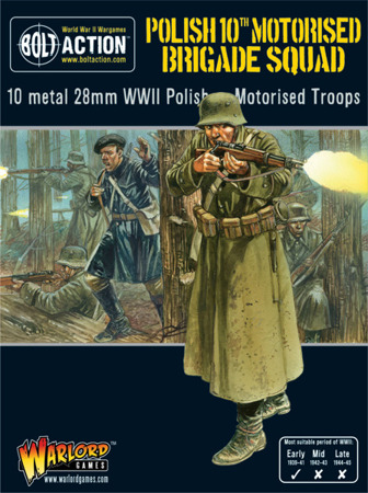 Bolt Action - Polish 10th Motorised Brigade Squad