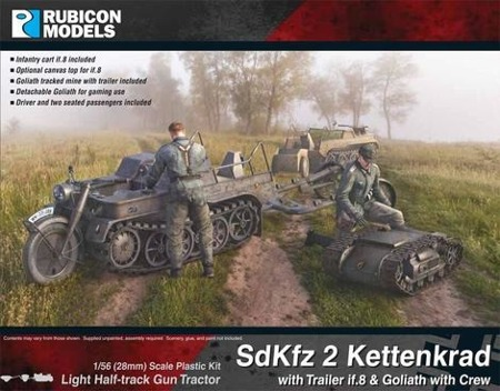Bolt Action - SdKfz 2 Kettenkrad