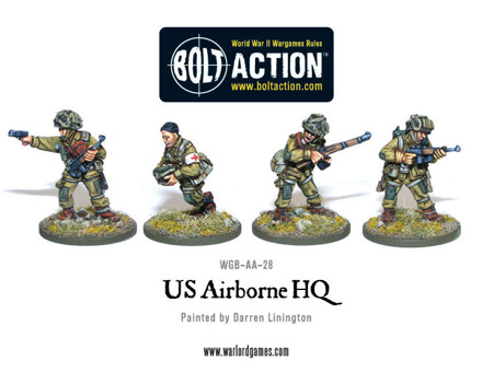 Bolt Action - US Airborne HQ