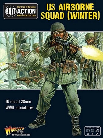 Bolt Action - US Airborne Squad (Winter)