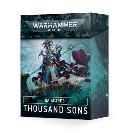 Datacards - Thousand Sons