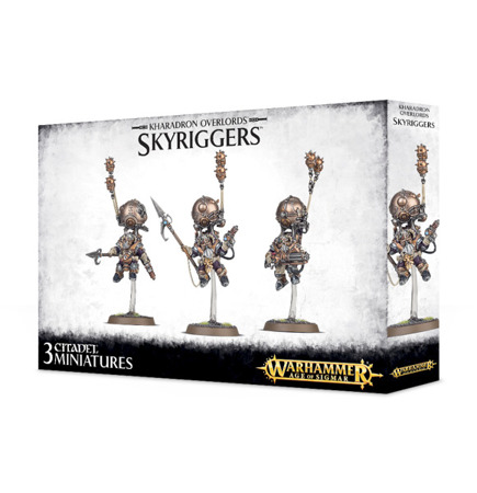 Kharadron Overlords - Skyriggers / Endrinriggers / Skywardens