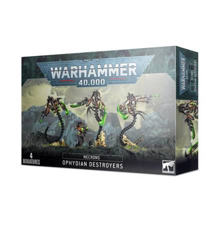 Necron Ophydian Destroyers