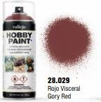 Vallejo Hobby Paint Gory Red Spray 400ml.