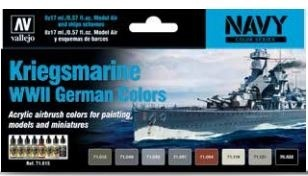 Vallejo Kriegsmarine WWII German Colors